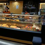 Nata Fina Pastelaria...Pastry counter.