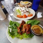 Gator and Wedge Salad
