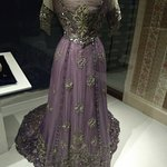 one of the dresses from the Royal exhibit