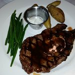 rib eye steak entree