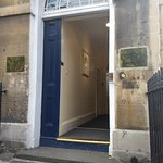 Jane Austen lived here for awhile with her family.