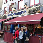 Touring Galway with friends
