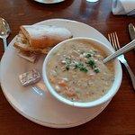 Sea Food Chowder.