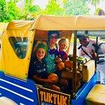 Pumbaa and our Tuk Tuk Safari