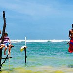 East meets West with the Stilt Fishermen