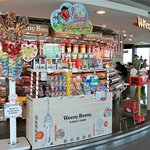 Candy shop on observation deck of N Seoul Tower.