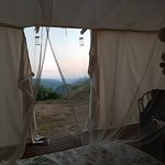 Waking up in Starcamp Faia Brava