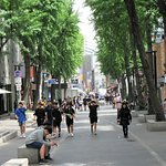 Insadong street.