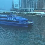 The Cotai water jet docking in Hong Kong