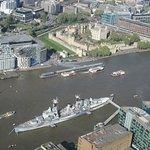 Photo of HMS Belfast