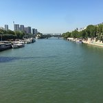 River Seine from Pont Lena