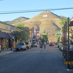 Tenderfoot Mountain from downtown Salida