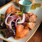 Smoked Salmon and Hot Smoked salmon Flakes