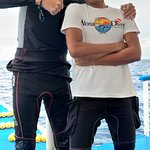 Alona Divers - My diving brother, Pj Liquit.