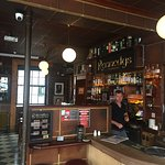 Entrance bar area