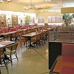 Área interna do restaurante de Indaiatuba (Centro)