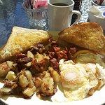 breakfast at Chez Yvonne
