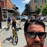 Dangerous Selfie in French Quarter
