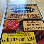 Photo de Jack Russell's Steak House & Brewery