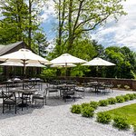 Outside dining at Blantyre