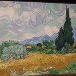 Campo de trigo con cipreses - Van Gogh
