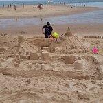 Build a sand castle!