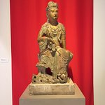 Asian sculpture welcomes visitors