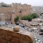View from Jaisalmer Fort to the city