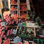 French fruit market. So fragant and colorful.