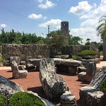 Cool chairs in Coral Castle