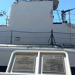 Submarine and plaque