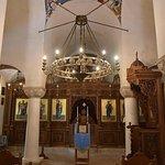 Inside the St Nicholas Greek Orthodox Church in Havana.