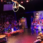 We had a really fun evening at the Cambodian Circus. It was high energy and the performers were