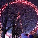 London eye in December