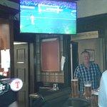 le lounge bar à l'heure de la coupe du monde 2018 FRANCE BELGIQUE