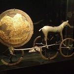 Bronze age sun chariot