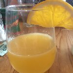 Mimosa was served a bit light don't you think?