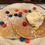 Pancake Pantry Kids M&Ms Pancakes