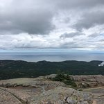 Traveling up Cadillac Mountain