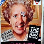 The Punk museum is right beside the restaurant and great to see.