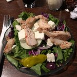 greek salad.....no tomatoes or croutons