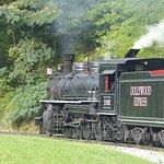 Dollywood Express train engine