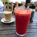 great coffee and detox juice