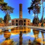 Dolat-Abad Garden in Yazd