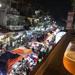 Night Market Old Town Hanoi