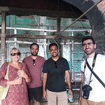 Guests experiencing Our Best of Amritsar Walking Tour- Combination of History+Heritage +Culture+