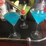 more than 20 martinis Bar