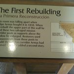 description of the first rebuilding