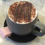 Delicious milk hot chocolate