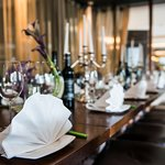 Chinese Cricket Club Restaurant semi private area